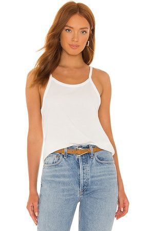Tularosa Green The Carly Tank Top in Ivory.