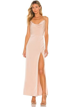 NBD Lila Gown in Nude.