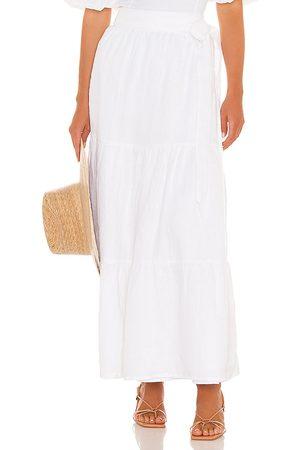 FAITHFULL THE BRAND Cavaretta Midi Skirt in .