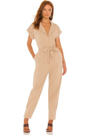 Lovers + Friends Whitney Jumpsuit in Nude.