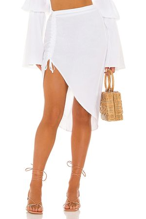 Bananhot X REVOLVE Ruched Midi Skirt in .
