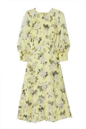 Erdem Yusra floral-print silk-voile midi dress