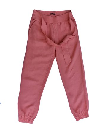 Sisley Linen trousers