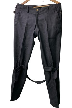 Vivienne Westwood Grey Wool Trousers