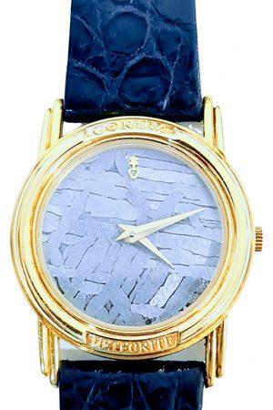 Corum Anthracite Yellow gold Watches