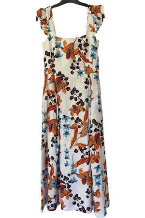 Dolores Promesas Linen maxi dress