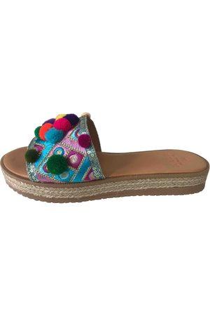 Mabu by Maria BK Women Flat Shoes - Multicolour Leather Flats