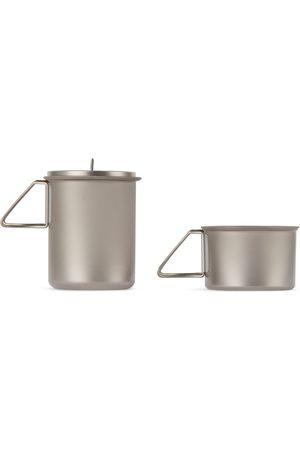 Snow Peak Bags - Silver Ti-Mini Solo Cook Set