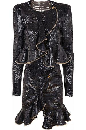 Alexander McQueen Leather suit jacket