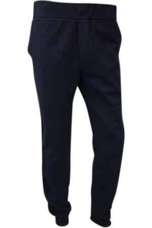 Berluti Men Pants - Navy Cotton Trousers