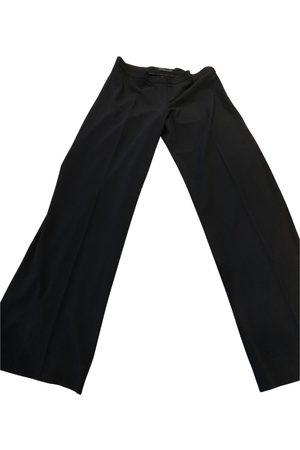 DKNY Women Straight Leg Pants - Wool straight pants
