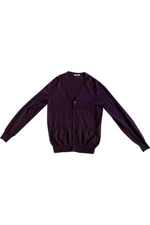 VALENTINO GARAVANI Burgundy Cashmere Knitwear & Sweatshirts