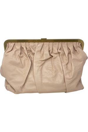 Mansur Gavriel Leather Clutch Bags