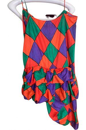 ISA ARFEN Multicolour Silk Dresses