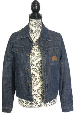 VICTORIA CASAL Navy Denim - Jeans Jackets
