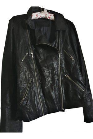 Kookai Women Gilets - Leather short vest