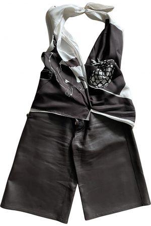 Bottega Veneta Women Jumpsuits - Leather Jumpsuits