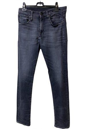 R13 Anthracite Cotton - elasthane Jeans