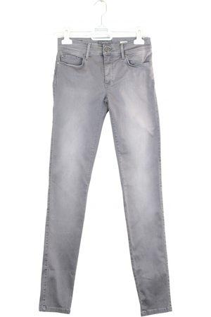 Salsa Grey Cotton Trousers