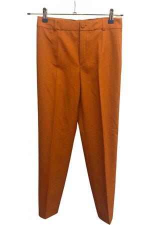 Lanvin Wool straight pants