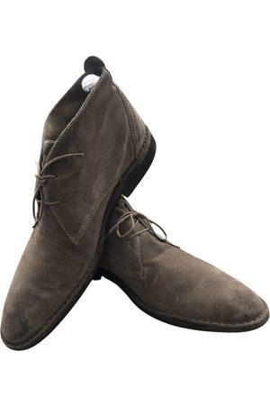 Ermenegildo Zegna Suede Boots