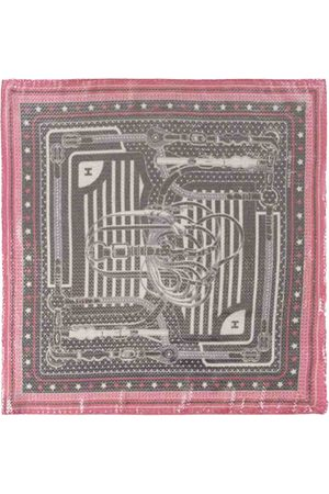 Hermès Bandana 55 silk scarf