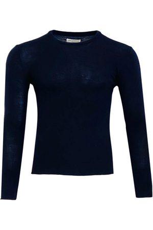 OFFICINE GENERALE Navy Wool Knitwear & Sweatshirts