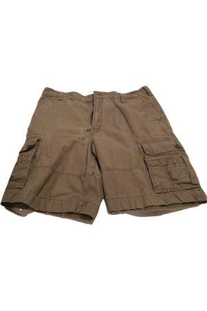 Levi's Camel Cotton Shorts