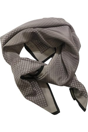 VALENTINO GARAVANI Grey Silk Scarves