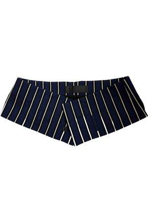 Haider Ackermann Navy Cloth Belts