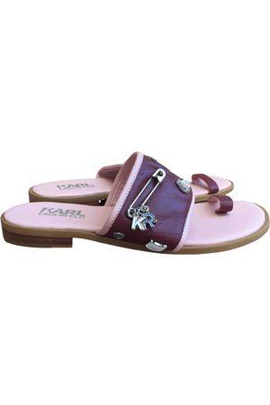 Karl Lagerfeld Women Sandals - Leather Sandals
