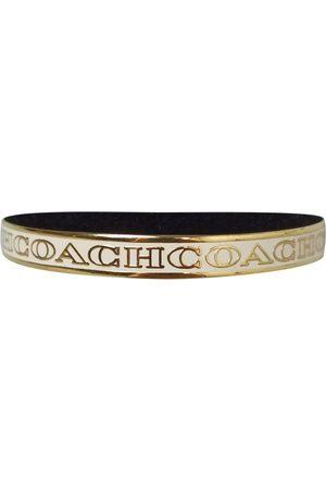 Coach Ecru Steel Bracelets