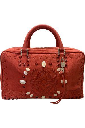 Loewe Suede Handbags