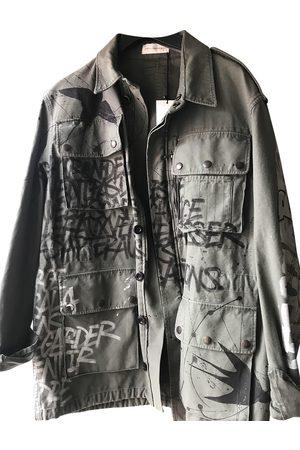 FAITH CONNEXION Khaki Cloth Coats