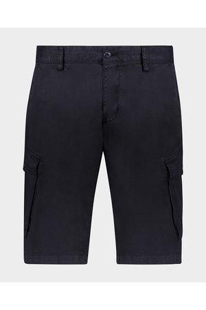 Paul & Shark Men Cargo Pants - Soft Stretch Organic Cotton Cargo Bermuda