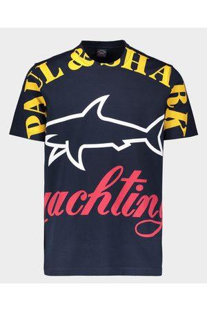 Paul & Shark Organic Cotton T-Shirt With Mega Logo