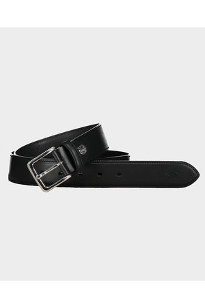 Paul&Shark Leather Belt With Printed Logo