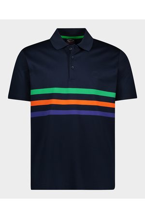 Paul&Shark Organic Cotton Piqué Polo With Embroidered Logo