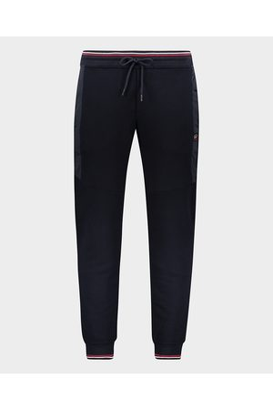 Paul & Shark Organic Cotton Sweatpants With Iconic Badge