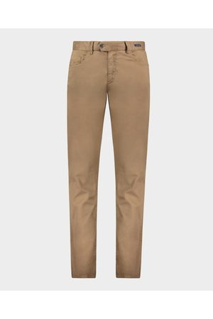 Paul & Shark Stretch Silk And Cotton 5 Pockets Trousers