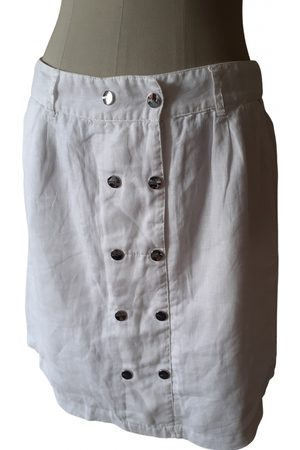Bréal Women Midi Skirts - Linen mid-length skirt