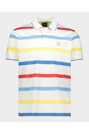 Paul & Shark Organic Cotton Piqué Polo With Embroidered Logo