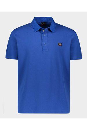 Paul & Shark Men Polo Shirts - Organic Cotton Piqué Polo With Iconic Badge