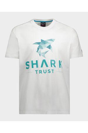 Paul & Shark Men Short Sleeve - Shark Trust Organic Cotton T-Shirt