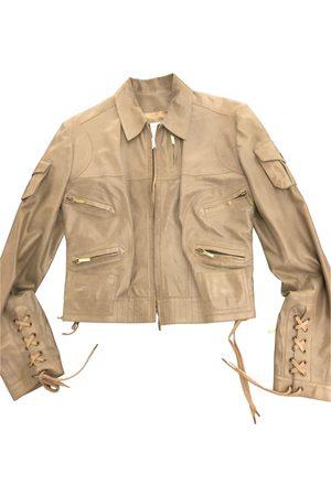 Dior Leather short vest