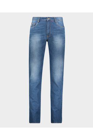 Paul&Shark Stretch Organic Cotton Red Rivet Jeans