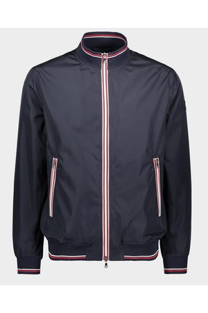Paul & Shark Men Jackets - Blouson With Knitted Rib And Contrast Zip