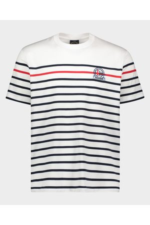 Paul&Shark Organic Cotton T-Shirt With Iconic Embroidery