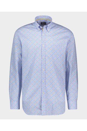 Paul&Shark Organic Cotton Poplin Shark Print Shirt