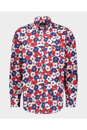 Paul&Shark Organic Cotton Poplin Printed Shirt